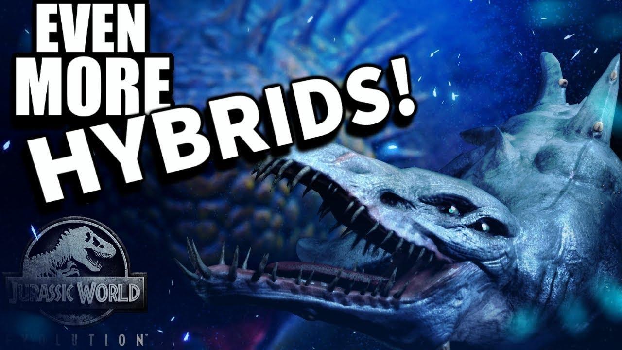 THE NEW DLC, HYBRIDS & NEW DINOS!! - Jurassic World Evolution Update