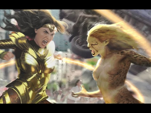 Chudo Zhenshina 1984 Wonder Woman 2 Promo Geparda 2020 Dc