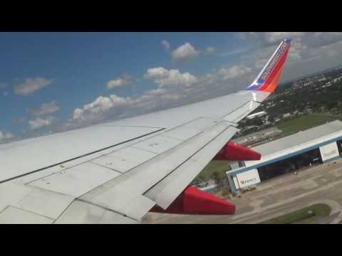HD | Full Flight Review | Southwest Airlines 737-700 Tampa to New Orleans