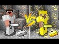 MINECRAFT - NOOB VS PRO: GOLD BATTLE in Minecraft