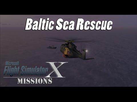 FSX/Flight Simulator X Missions: Baltic Sea Rescue