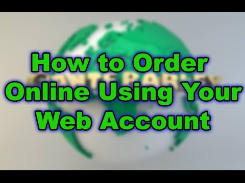 Sante Barley How To Order Online Using Your Web Account