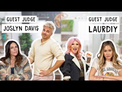 Design Vs. Design: Best Bedroom Makeover (ft LaurDIY and Joslyn Davis as judges!)