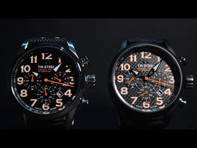 TW Steel Coronel Dakar 2017 lmited and Special Editions watches