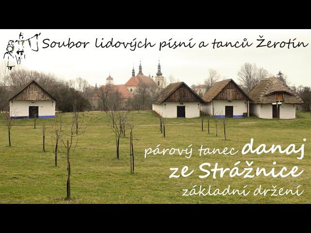 SLPT Žerotín - Párový tanec danaj ze Strážnice - základní držení