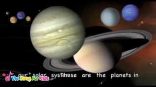 The Planets Song - The Song For Kids Official