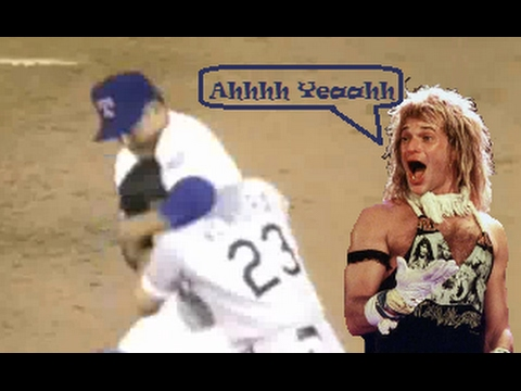 Nolan Ryan Fight (with David Lee Roth Commentary)