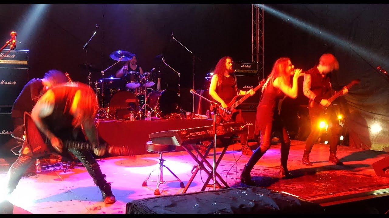 beyond the black, bounty rock cafe open air 17.6.2017, olomouc, cz