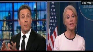 "KellyAnne Conway full interview meltdown on CNN Chris Cuomo, "" no one talks about Hillary Clinton """