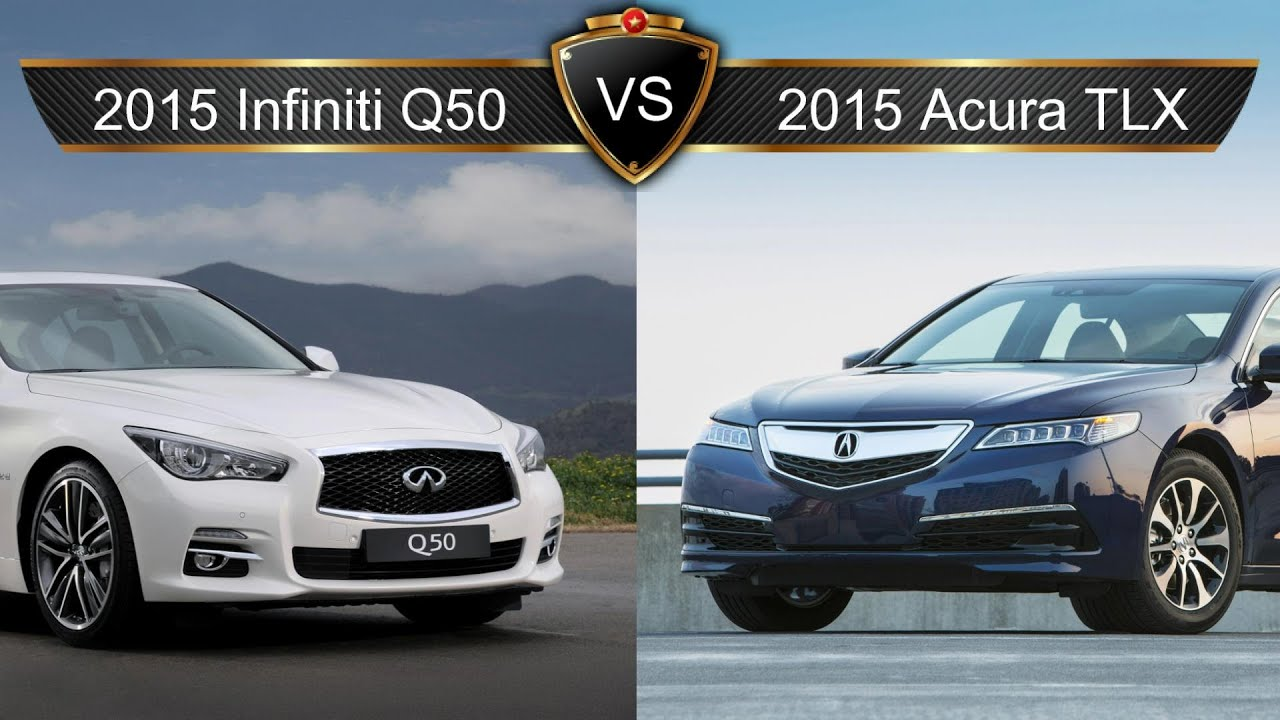 2017 Acura Tlx Vs Infiniti Q50 By The Numbers