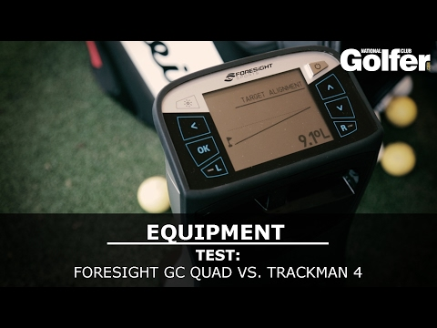 Foresight GC Quad vs. Trackman 4 Test - The Golf Shack Academy