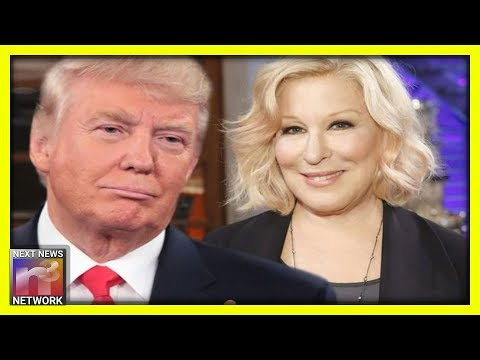 SICK. Bette Midler Posts Disgusting Tweet Attacking The Trump Family' and Mocking the Mentally Ill