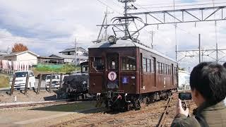 上毛電鉄 - 大胡車庫 デハ101小移動