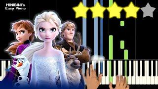 Frozen 2 OST (겨울왕국 2 OST) - Into The Unknown (숨겨진 세상) 《Piano Tutorial》 ★★★★☆ [Sheet] видео