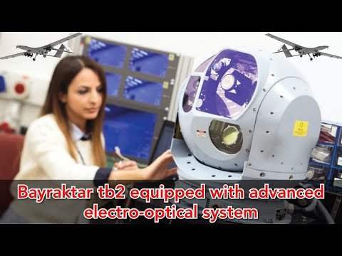 Turkish Drone Bayraktar TB2 Combat Drone Using CATS