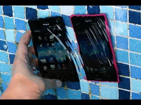 نظره سريعه على الهاتف Sony Xperia acro S