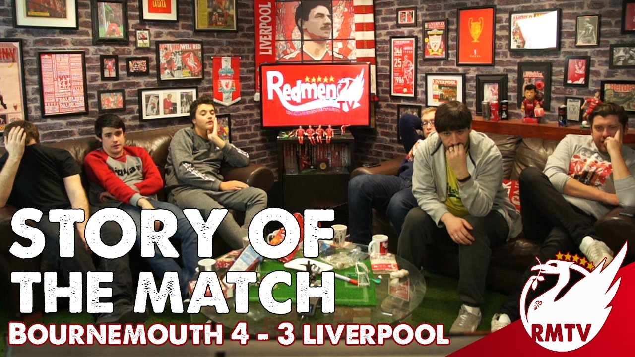 Liverpool Vs Bournemouth Totalsportek: Story Of The Match - YouTube