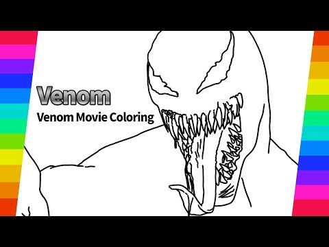 Marvel Venom Movie Coloring Spider Man Coloring Book How To Draw Coloring Book Youtube