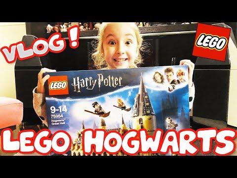VLOG : cerchiamo e montiamo il CASTELLO DI HOGWARTS della LEGO !! 💖💖💖 [LEGO 75954]