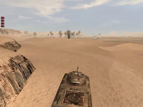 COOP MISSION: Africa 1 (Tankbattle) B | Hidden and Dangerous 2