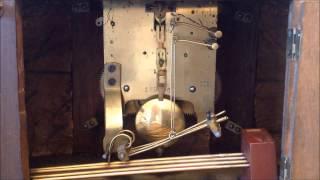 Vintage Emes Mantle Clock Bim Bam