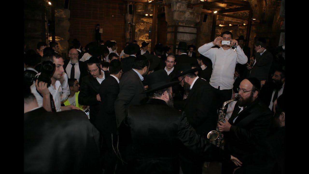 """ריקודים סוערים במנהרות הכותל – 'הקומזיץ הגדול' חוה""""מ פסח 2015"""