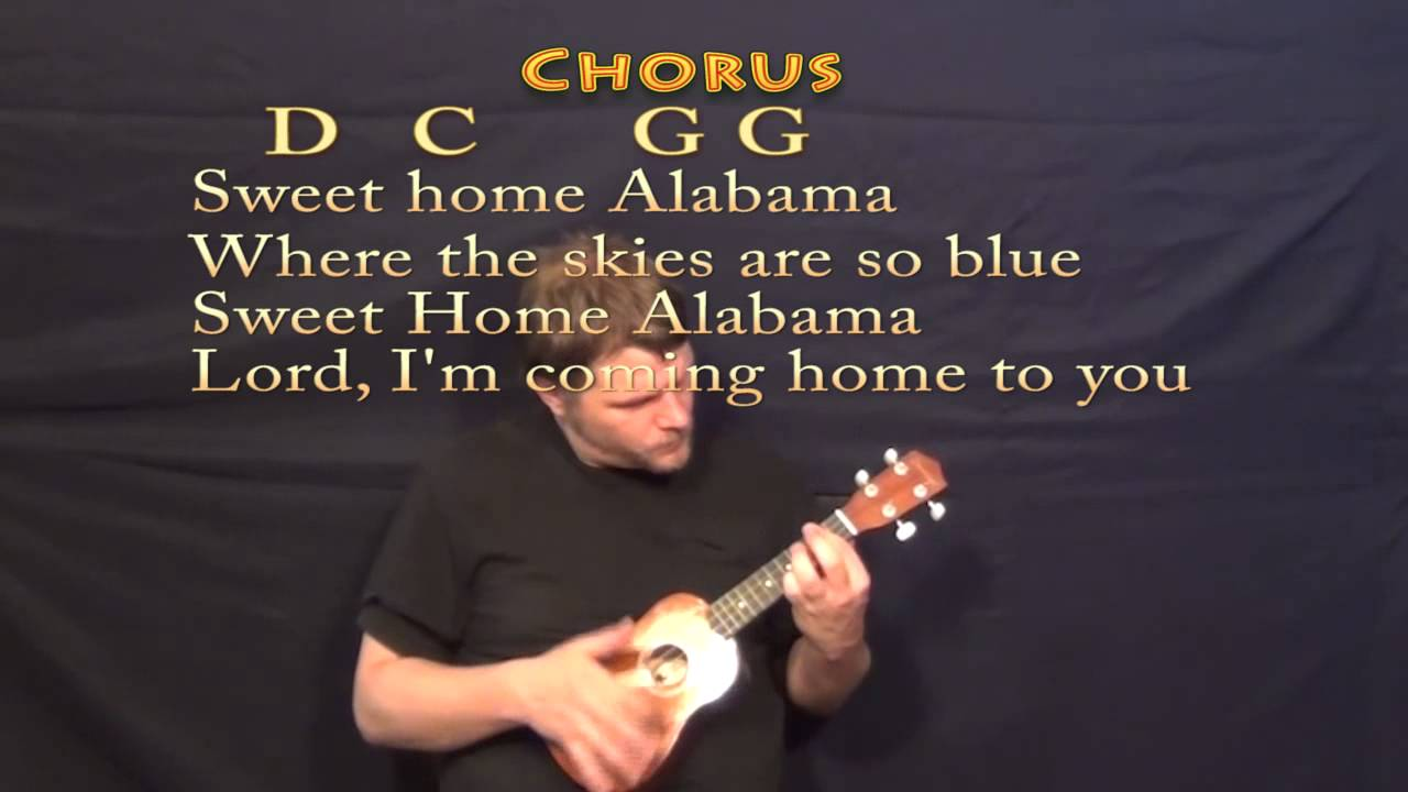DOWN HOME CHORDS by Alabama @ Ultimate-Guitar.Com