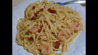 Come & Cook With Me - Shrimp Scampi With White Wine Sauce