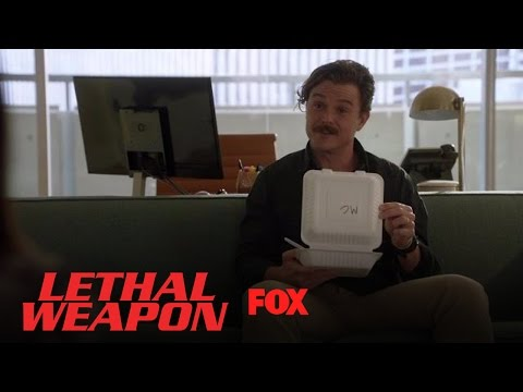 Riggs Helps Himself To Dr. Cahill's Lunch | Season 1 Ep. 10 | LETHAL WEAPON
