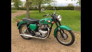 bsa a7 1961 500cc for sale