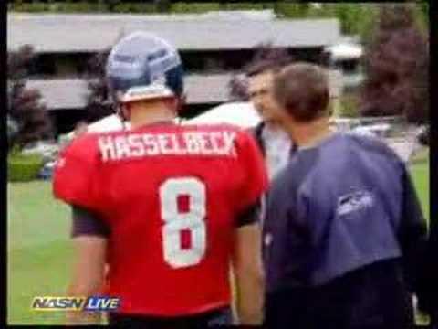 Seahawks practice slides
