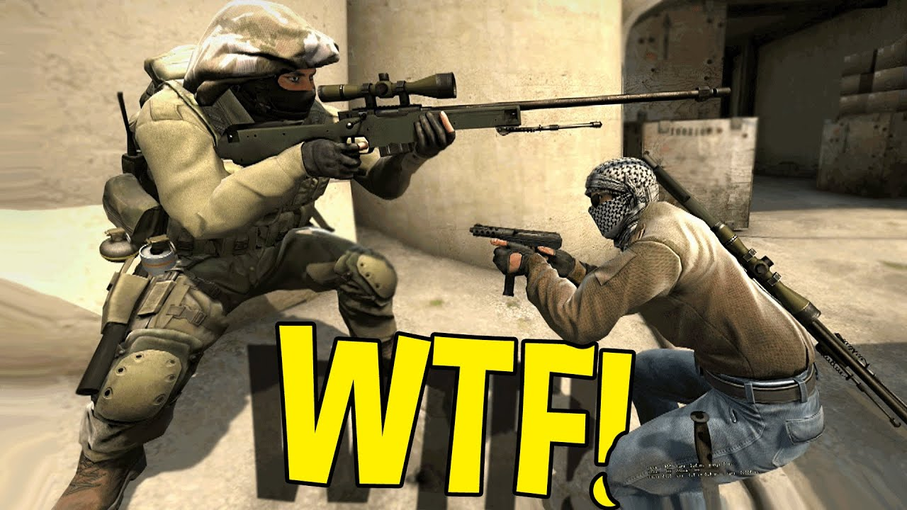 Csgo Funny Moments Wtf Dumbest Sniper Ever Knife Trolling More Youtube