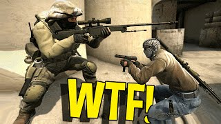 CS:GO FUNNY MOMENTS - WTF DUMBEST SNIPER EVER, KNIFE TROLLING & MORE
