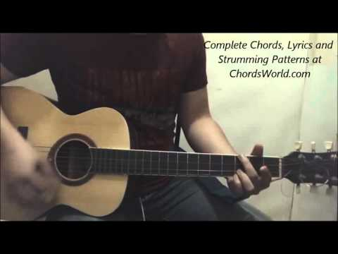 Justin Bieber Where Are U Now Chords (Guitar Lesson)