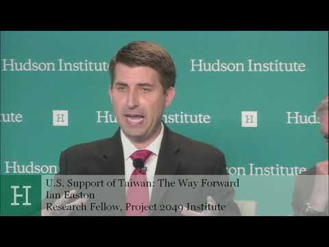 U.S. Support of Taiwan: The Way Forward