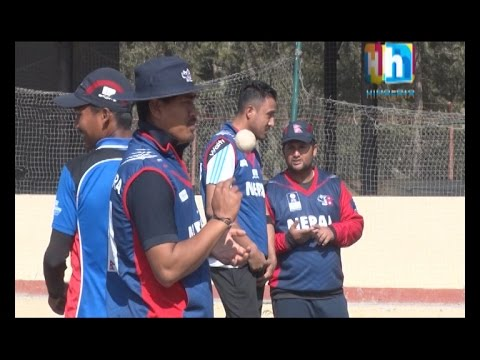 Nepal Cricket Team High Performance Camp with Dav Whatmore - Cricket and More