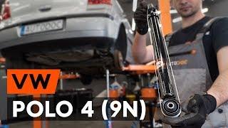 Montage Jambe de force VW POLO (9N_) : vidéo gratuit