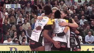 #Pallavolo A1 femminile - Novara-Brescia 3-0: highlights