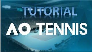 AO-Tennis-Tutorial - Wie lade benutzerdefinierte Spieler