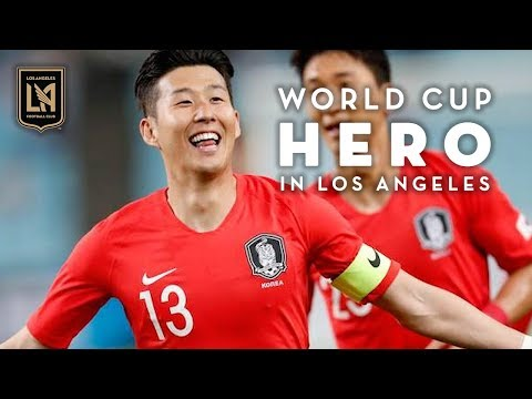 World Cup Hero in Los Angeles: Heung-Min Son Celebrates Win
