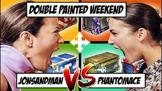 THE FIRST DOUBLE PAINTED WEEKEND CRATE WARS!