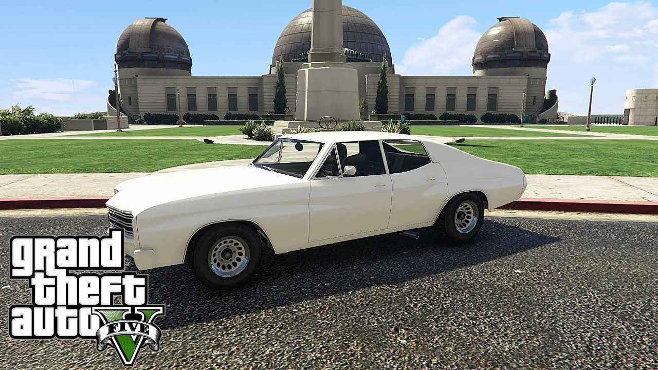 Gta V Online 1 New Muscle Car Tulip Dlc Arena War Youtube