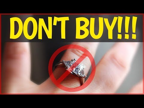 Bad Idea - Buying an Engagement Ring is a BAD Investment