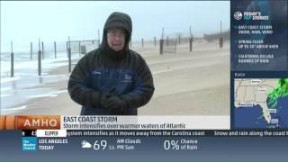 Mike Seidel The Weather Channel VA Beach Wind/Rain 3-4-2016