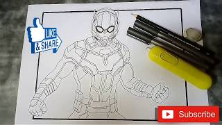My draw it too drawing. (Ant-Man)
