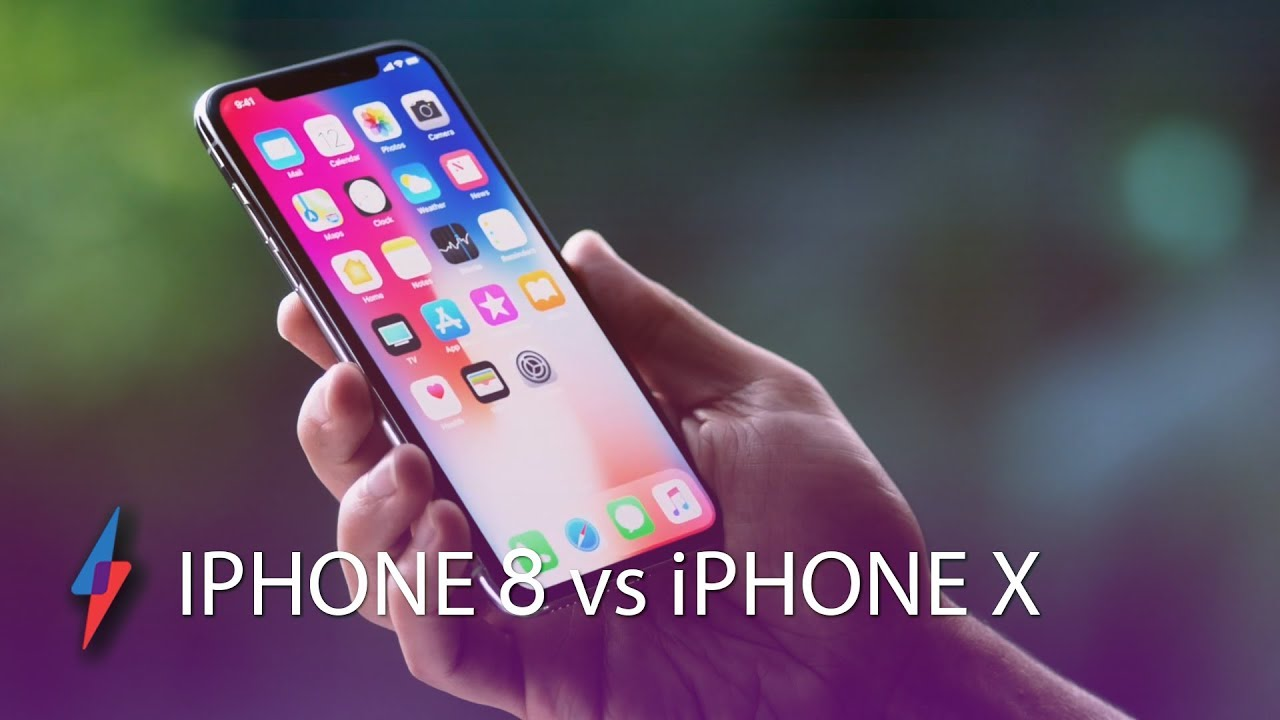 iPhone 8 vs iPhone X - Which Should You Buy? | Trusted Reviews - YouTube