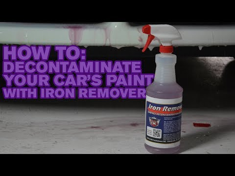 How To: Decontaminate Your Car's Paint with Iron Remover