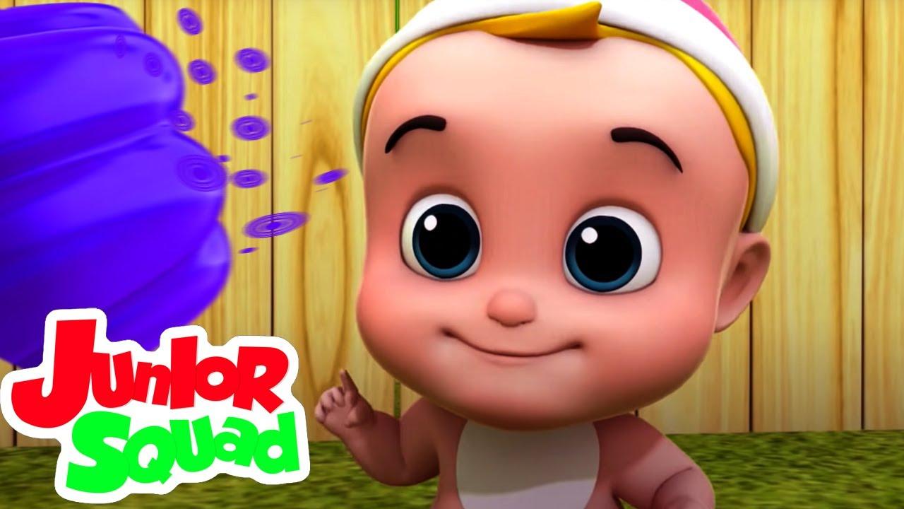 هلام على طبق |  فيديوهات متحركة | Junior Squad Arabic | التعليم | أغاني للأطفال
