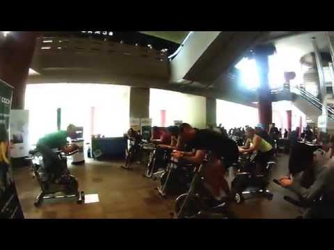 Spinback's 2nd Annual Charity Spinathon 2014 at the Shanghai Centre
