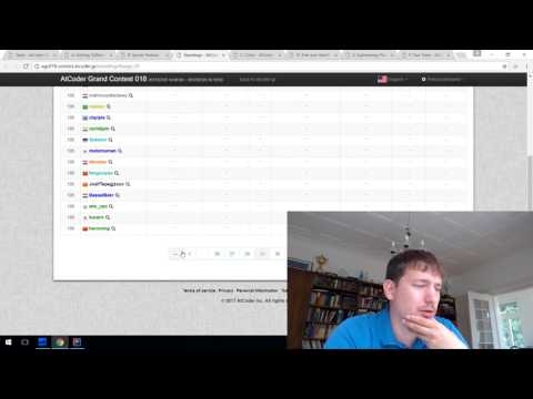 AtCoder Grand Contest 018 screencast with commentary
